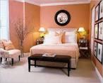 Bedroom Carpet Ideas With Orange Wall Color And Carpet Orange ...