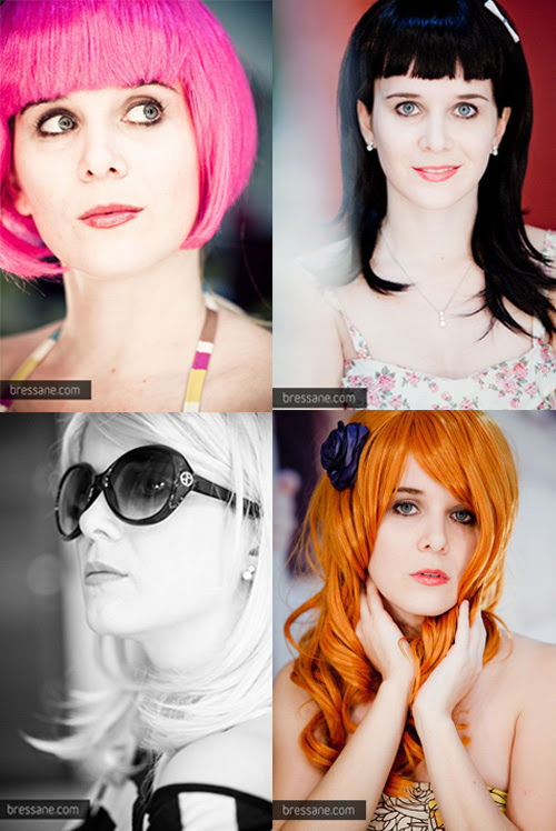 Ila Fox, perucas, peruca pink, peruca ruiva, peruca morena pinup, peruca loira, foto by Bressane