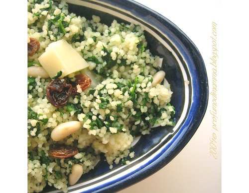 Couscous spinaci e co.