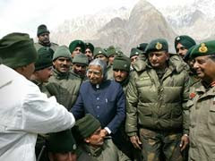 When President APJ Abdul Kalam Visited Jawans at Siachen