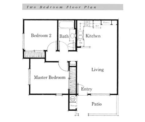 simple house floor plans teeny tiny home simple house