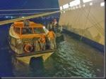 MSC Magnifica - Cabo preso em hélice