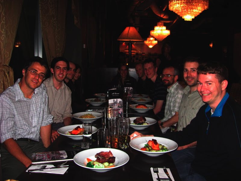 Mozilla NZ dinner