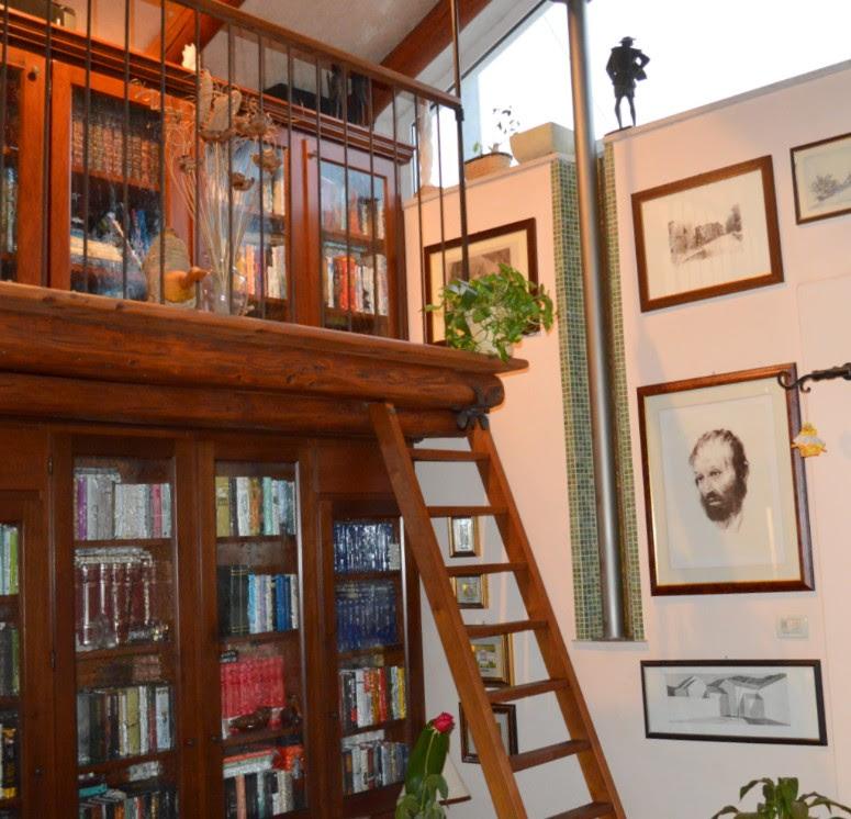 soppalco con libreria Trento