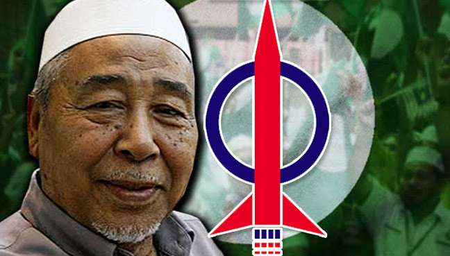 Image result for Hashim Jasin , PASs newly-appointed spiritual leader