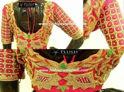 Heavy Bridal maggam work blouse  Plush boutique