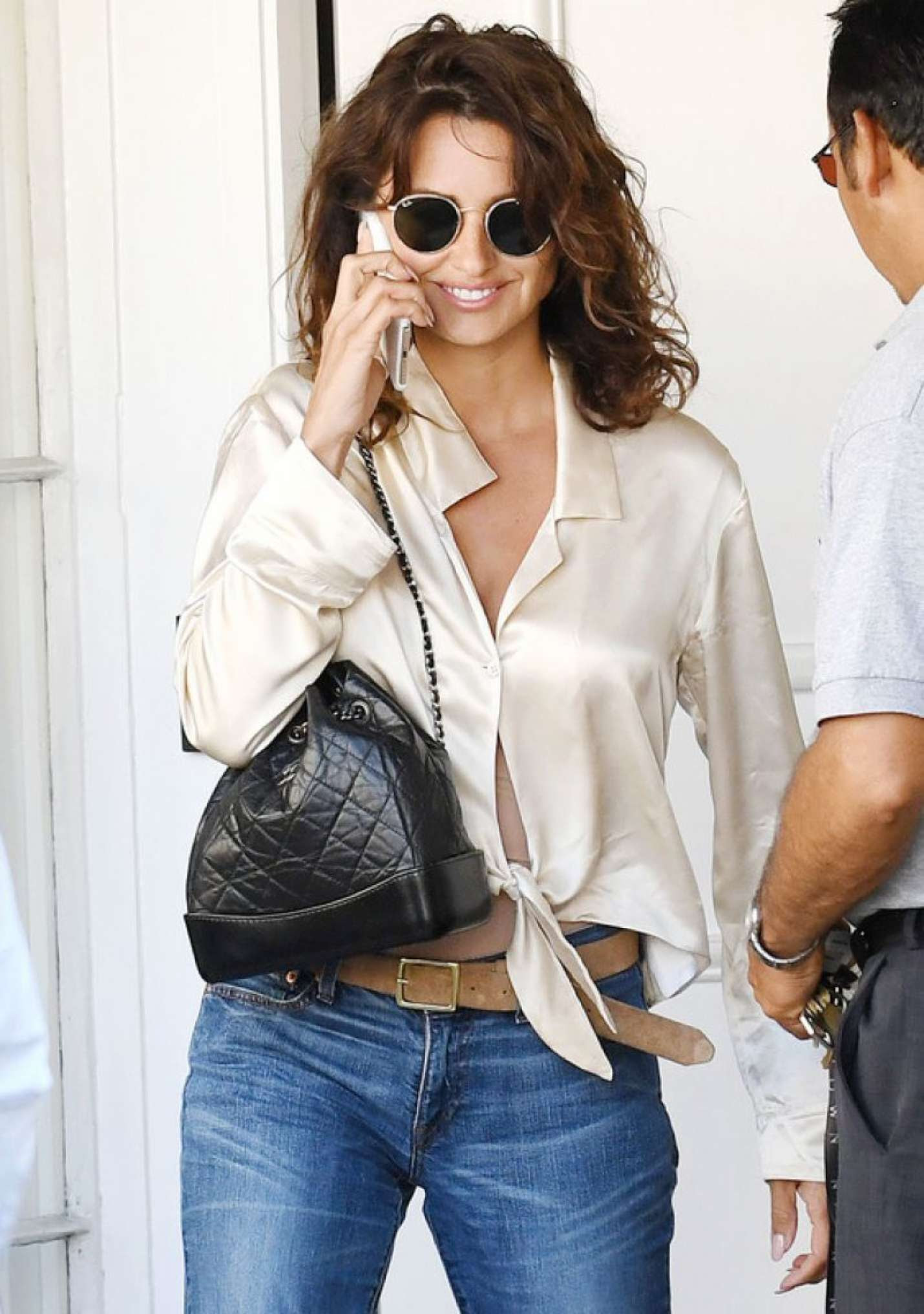 Penelope Cruz in Jeans out in Los Angeles