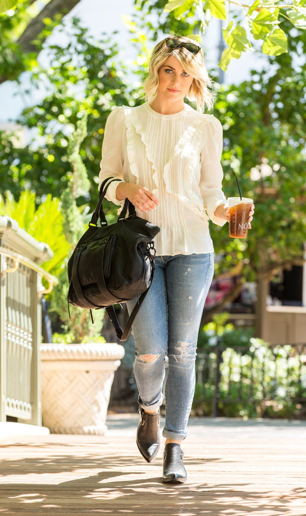 Julianne Hough At The Grove