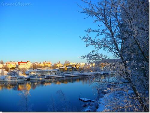 Again in Leksand:HAPPY NEW YEAR, MY FRIENDS.