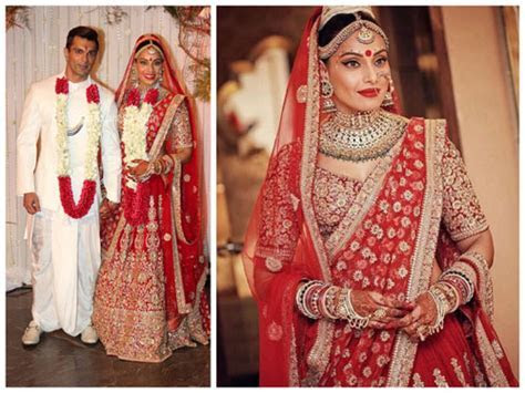 Top 10 Wedding Lehengas of Bollywood Celebrities