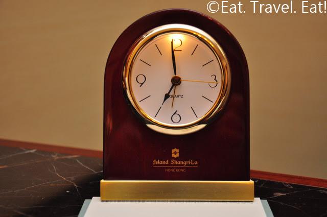 Island Shangri-La Alarm Clock