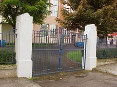 Gates, King's Hall, Belfast