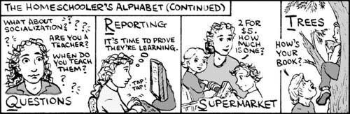 Home Spun comic strip #518