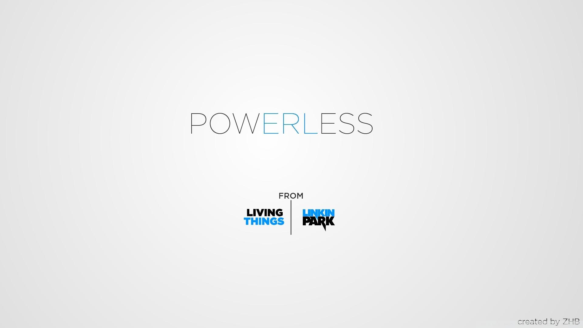 Powerless From Linkin Park Ultra Hd Desktop Background Wallpaper