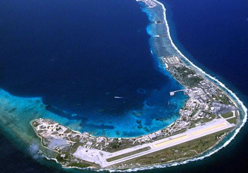 Atol de Bikini, nas Ilhas Marshall