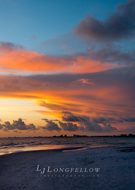 Beach Sunset 2012 (6/365 - the 12th day of Christmas!)