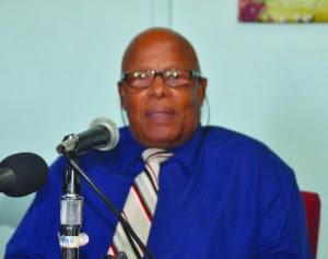 Chief Minister Hubert Hughes