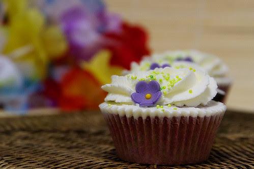 cupcake de remolacha
