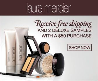 lauramercier.com: Free Shipping + 2 Samples with any $50 Purchase