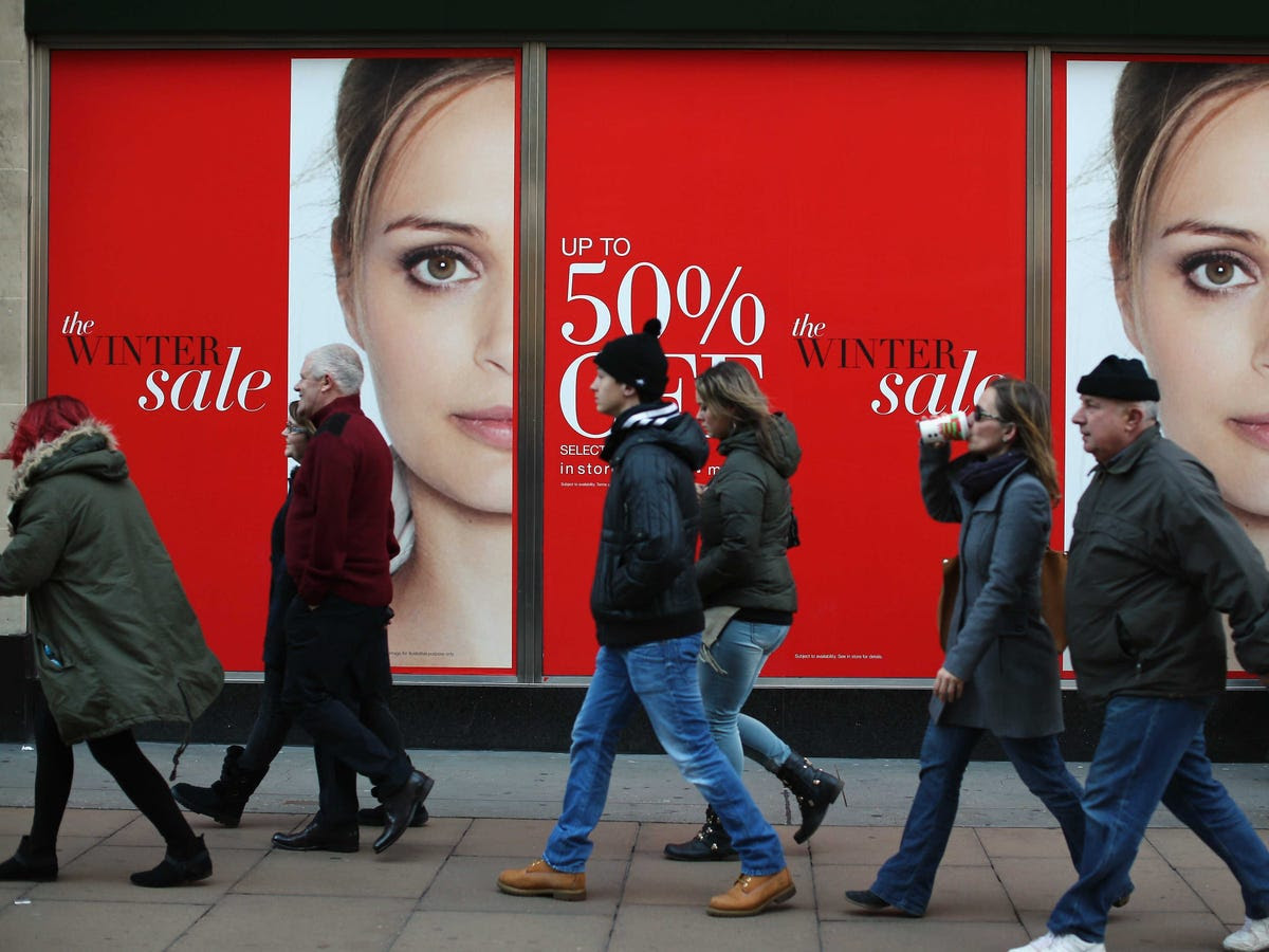 Stores not only entice you with sales, they also use limited-time offers to increase your sense of urgency in making a purchase.