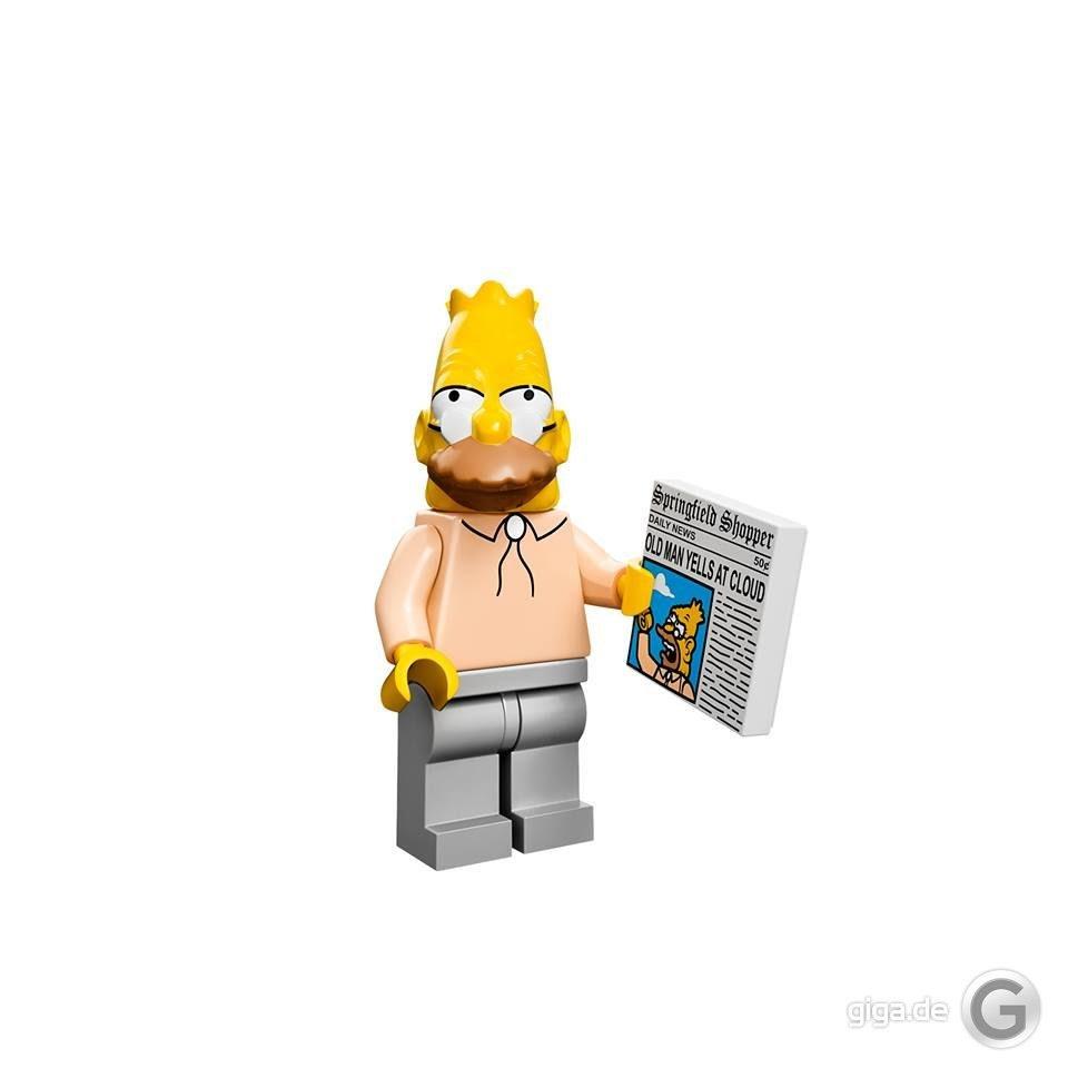 Bildergalerie Simpsons Lego Figuren