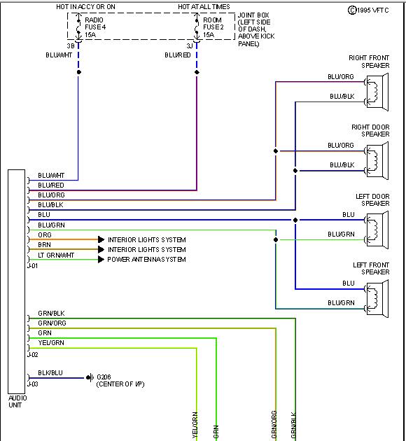 Mazda B4000 Stereo Wiring
