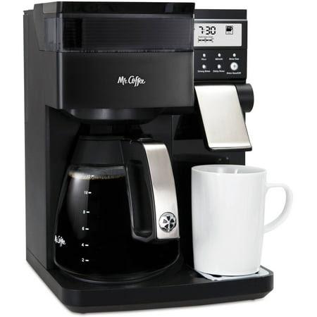 Mr. Coffee Perfect Choice Coffee Maker with Glass Carafe, Black, BVMC-PCX85