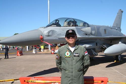 Major Tyson from Republic of Singapore Air Force