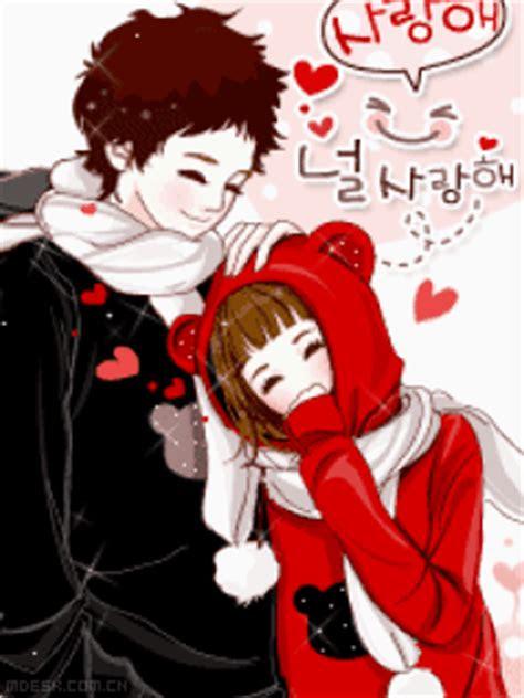 kumpulan gambar kartun romantis kartun couple animasi