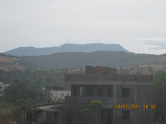 View of Sinhagad from the site of Urbangram Kirkatwadi, A 2 BHK Flat for Rs. 25 Lakhs on Sinhagad Road, Pune
