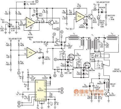 3 Cfl Ups Inverter Circuit Diagram | Circuit Diagram Images