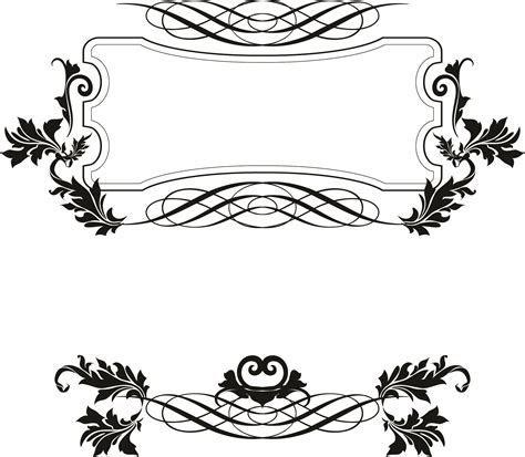 15 Fancy Vector Borders Images   Free Vector Decorative