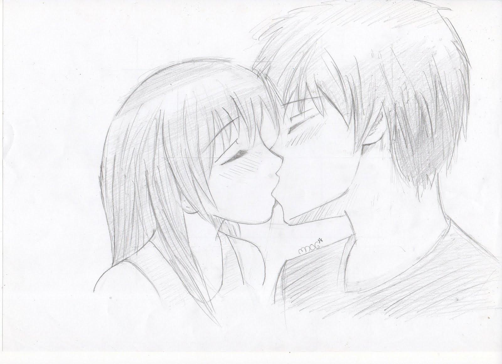 Imagenesparacolorearwebsite Imagenes De Animes Enamorados Para