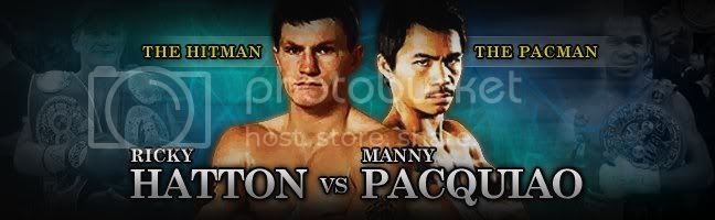 Pacquiao,Hatton,fight