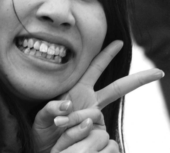 La sonrisa de la victoria