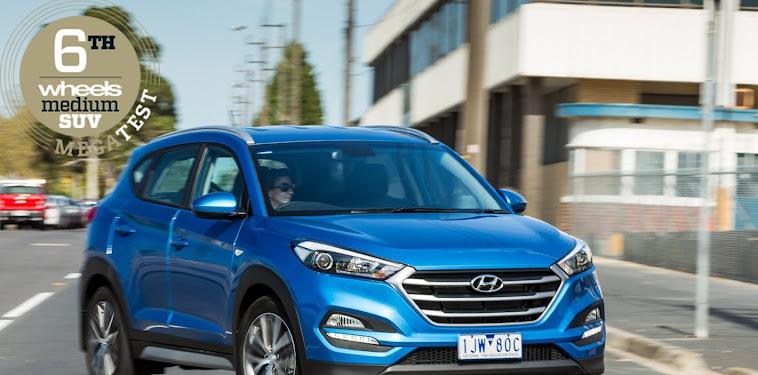 Hyundai Tucson Suv Australia