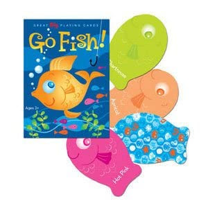 Eeboo Color Go Fish Playing Cards