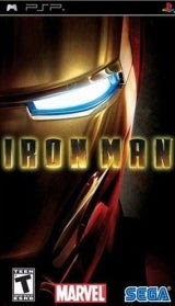 Iron Man (PSP) Second Cover