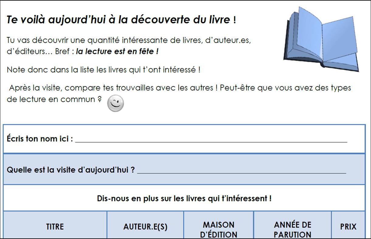 Exemple De Fiche De Lecture D Un Ouvrage Pdf - Exemple de ...