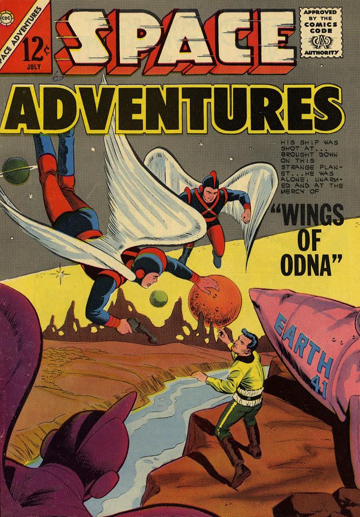 Space Adventures #52 (Charlton, 1963)