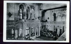 Egypt Heliopolis the Palace hotel Interior real photo af1807