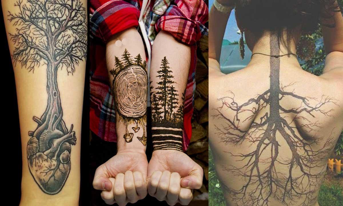 15 Hermosos Tatuajes Que Te Conectarán Con La Naturaleza Upsocl
