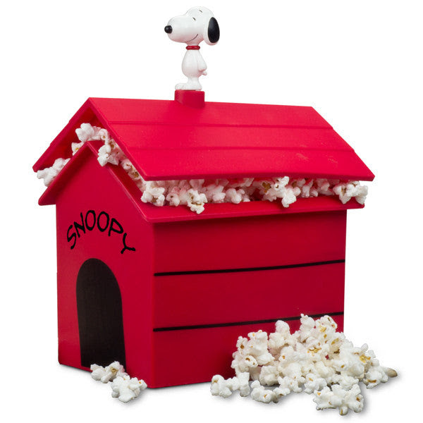 New Peanuts Dog House Microwave Popcorn Popper Smartplanet