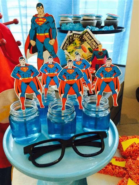 Justice League/Superhero Birthday Party Ideas   Photo 1 of