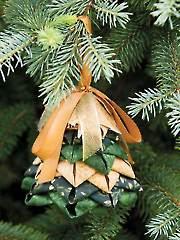 Evergreen Tree No-Sew Ornament Pattern