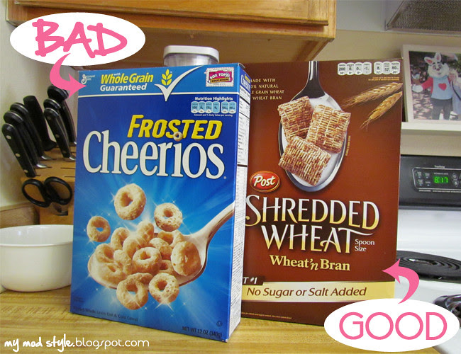 Whole Food Cereals bad good