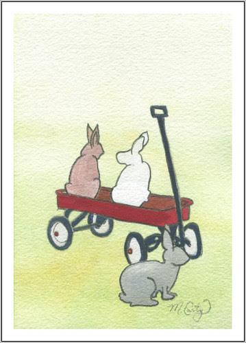 wagon bunnies