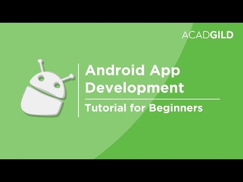 Android Tutorial for Beginners | Android App Development Tutorial for Beginners | Android Basics