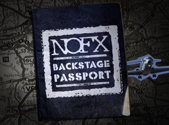 <center>[NEWS] 'NOFX' Backstage Passport 2 almost finished</center>