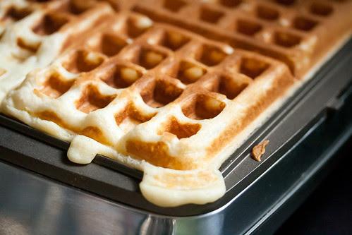 Egg Nog Waffles by Isabelle @ Crumb, on Flickr